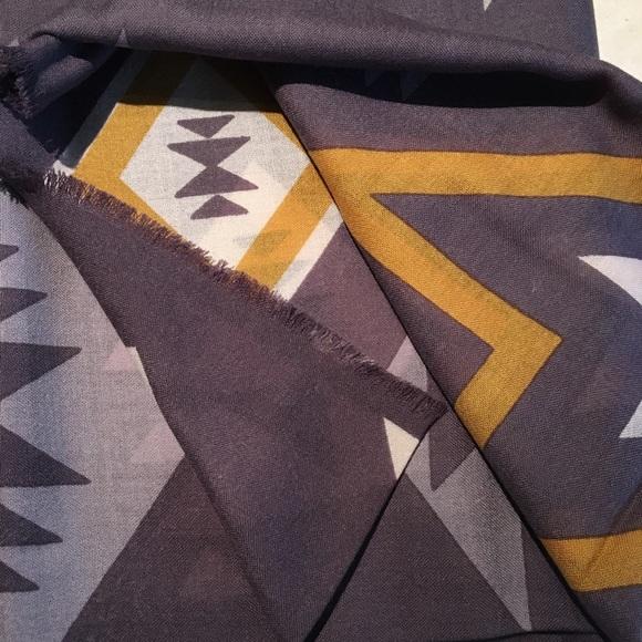 Oversized Featherweight Wool Scarf Plain S…
